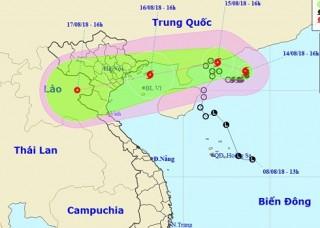 Bão số 4 sẽ đổ bộ vào khu vực Quảng Ninh - Nam Định