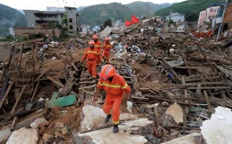 Động đất tại Trung Quốc: Ít nhất 18 người bị thương, hỏng 6000 căn nhà