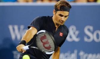 Federer thắng trận ra quân tại Cincinnati Open