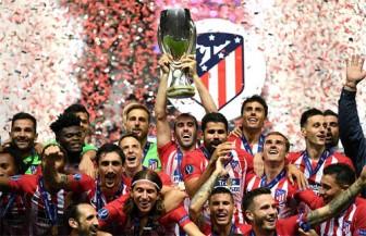 Thắng Real 4-2, Atletico giành Siêu Cup châu Âu