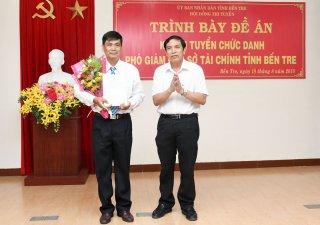 Ông Lê Văn Riếp trúng tuyển chức danh Phó giám đốc Sở Tài chính