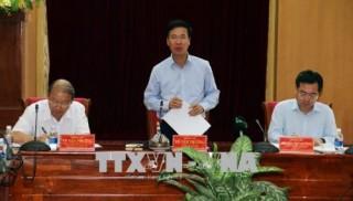 Trưởng ban Tuyên giáo Trung ương Võ Văn Thưởng làm việc tại Kiên Giang