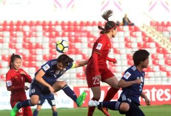 Đội tuyển bóng đá nữ Việt Nam thua đậm Nhật Bản 0-7