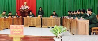 Châu Thành tổng hợp diễn tập khu vực phòng thủ