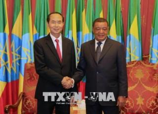 Tuyên bố chung Việt Nam - Ethiopia