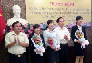 Đảng bộ Khối Doanh nghiệp tỉnh: Phát huy vai trò nêu gương của đảng viên