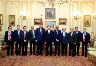 Chủ tịch nước Trần Đại Quang kết thúc chuyến thăm Ai Cập