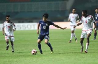 Hạ UAE, Nhật Bản vào chung kết bóng đá nam Asiad