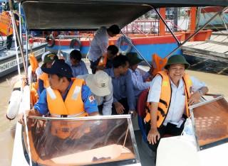 Đoàn công tác Trung ương kiểm tra công tác phòng, chống thiên tai tại tỉnh