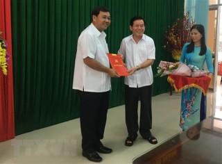 Công bố quyết định chuẩn y Phó Bí thư Tỉnh ủy Trà Vinh