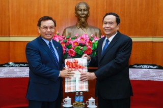 Quan hệ hợp tác giữa MTTQ Việt Nam và Mặt trận Lào xây dựng đất nước ngày càng thực chất, hiệu quả