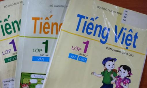Cân nhắc việc sử dụng bộ sách Tiếng Việt lớp 1 Công nghệ giáo dục