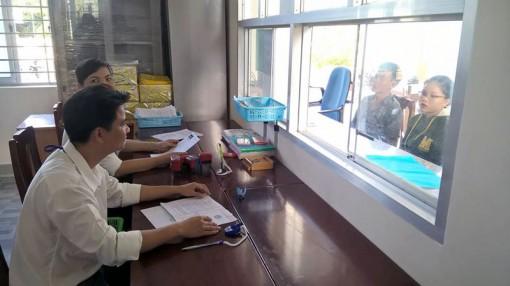 Lương Phú thực hiện tốt công tác cải cách hành chính