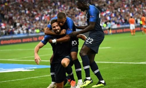 Pháp thắng trận đầu tại Nations League