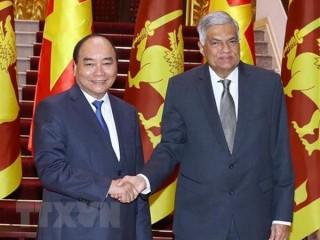 Thủ tướng Nguyễn Xuân Phúc tiếp Thủ tướng Sri Lanka