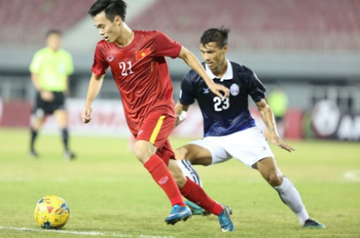 Trận Việt Nam - Campuchia ở AFF Cup đổi địa điểm thi đấu