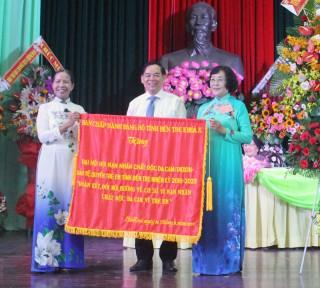 Đại hội đại biểu Hội Nạn nhân chất độc da cam/dioxin - Bảo vệ quyền trẻ em tỉnh thành công tốt đẹp