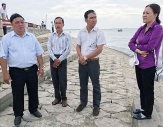 Ba Tri phát triển du lịch biển Cồn Ngoài