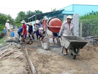 Kinh nghiệm xây dựng giao thông nông thôn: Cần khẩn trương và mạnh dạn