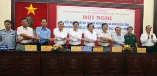 Ký kết quy chế phối hợp quản lý tàu cá hoạt động khai thác thủy sản trên biển
