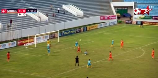 Vòng 23 V-League 2018: SHB Đà Nẵng bị Sana Khánh Hòa BVN cầm hòa