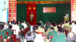 Tập huấn cho cán bộ Hội Cựu chiến binh cơ sở