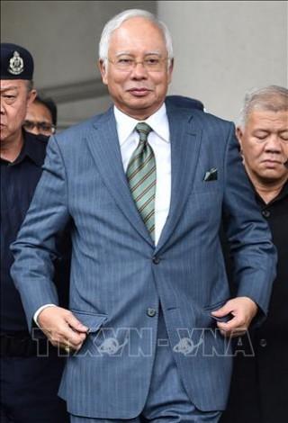 Cựu Thủ tướng Malaysia Najib Razak đối mặt với 21 cáo buộc rửa tiền