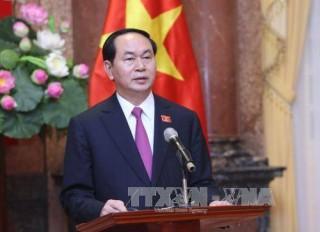 Chủ tịch nước Trần Đại Quang gửi thư chúc Tết Trung thu cho các cháu thiếu nhi