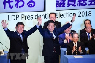 Tổng bí thư gửi điện mừng Thủ tướng Nhật Bản tái đắc cử Chủ tịch LDP