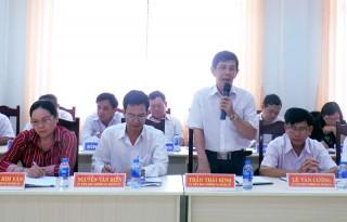 Hội nghị Ban Chấp hành Đảng bộ huyện Giồng Trôm lần thứ 15