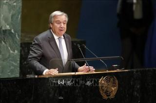 Liên hợp quốc và EU cam kết hợp tác vì thế giới an toàn và thịnh vượng