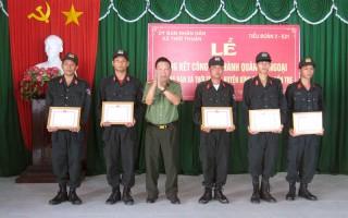 Trung đoàn Cảnh sát cơ động Tây Nam Bộ tổng kết công tác hành quân dã ngoại