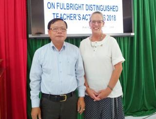 Triển khai Chương trình Giáo viên xuất sắc ngắn hạn Fulbright 2018 tại Bến Tre