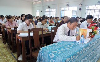 152 cán bộ hội tham dự lớp tập huấn nghiệp vụ