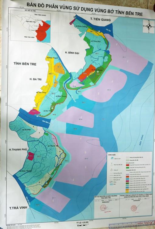 Triển khai công bố kết quả dự án phân vùng chức năng đới bờ tỉnh
