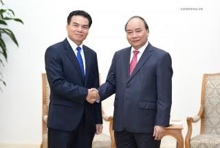 Thủ tướng tiếp Bộ trưởng, Chủ nhiệm Văn phòng Phủ Thủ tướng Lào