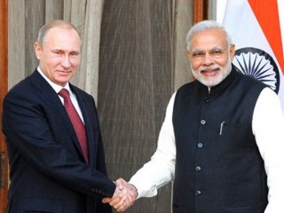 Lãnh đạo Nga và Ấn Độ bắt đầu tiến hành hội đàm song phương