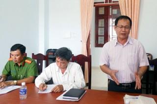 Kiểm tra công tác phổ biến, giáo dục pháp luật, hòa giải cơ sở tại huyện Giồng Trôm