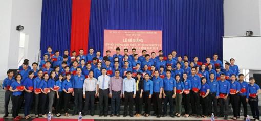 115 bí thư đoàn cơ sở được bồi dưỡng kiến thức, kỹ năng nghiệp vụ năm 2018