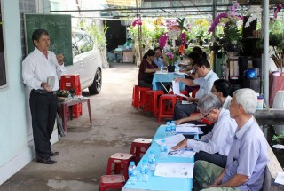 Tập huấn kỹ thuật trồng và chăm sóc hoa lan