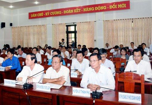 Khai mạc Hội nghị Tỉnh ủy lần thứ 14