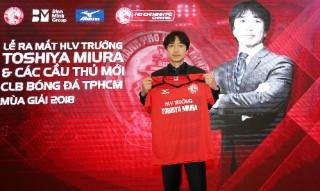 HLV Toshiya Miura chia tay CLB TP. Hồ Chí Minh
