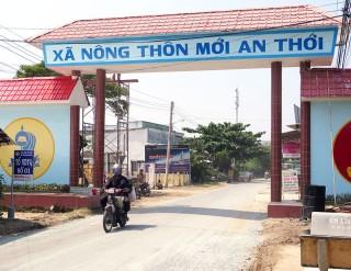 Chung tay xây dựng xã nông thôn mới An Thới