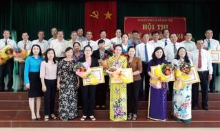 """Nguyễn Thị Thanh Giang đạt giải Nhất Hội thi """"Bí thư chi bộ giỏi năm 2018"""""""