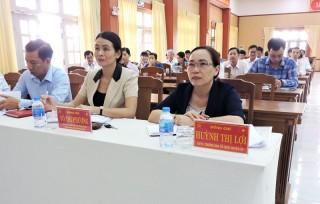 Châu Thành đạt và vượt 12 chỉ tiêu Nghị quyết Huyện ủy năm 2018