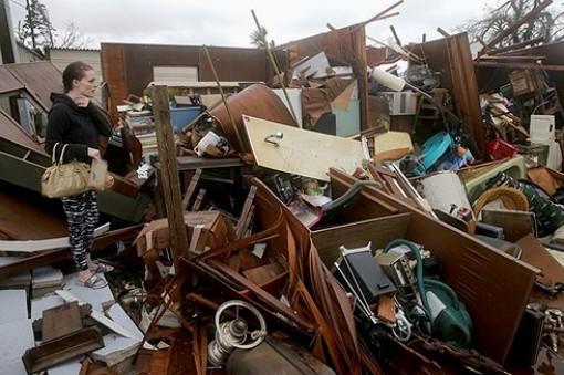 ít nhất 13 người thiệt mạng do hậu quả bão Michael ở Mỹ