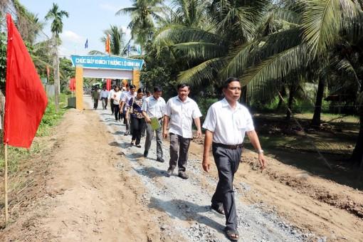 Phát động phong trào xây dựng giao thông nông thôn tại xã Hưng Lễ