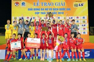 Phong Phú Hà Nam vô địch Giải bóng đá nữ vô địch quốc gia