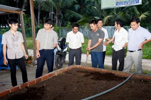 Liên kết sản xuất từ đất sạch đến rau sạch