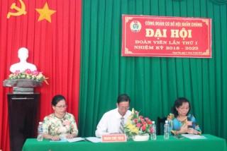Đại hội Đoàn viên CĐCS Hội quần chúng huyện Thạnh Phú